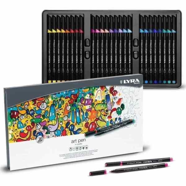 marcadores lyra art pen 30 colores hi quality