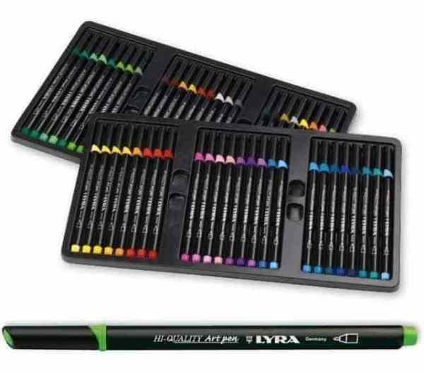 marcadores lyra art pen 30 colores hi quality_2