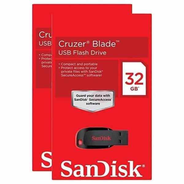 PENDRIVE 32GB SANDISK CRUZER BLADE