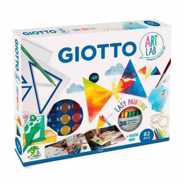 giotto art lab easy painting