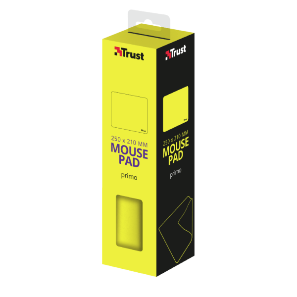 PAD MOUSE PRIMO YELLOW-BOX