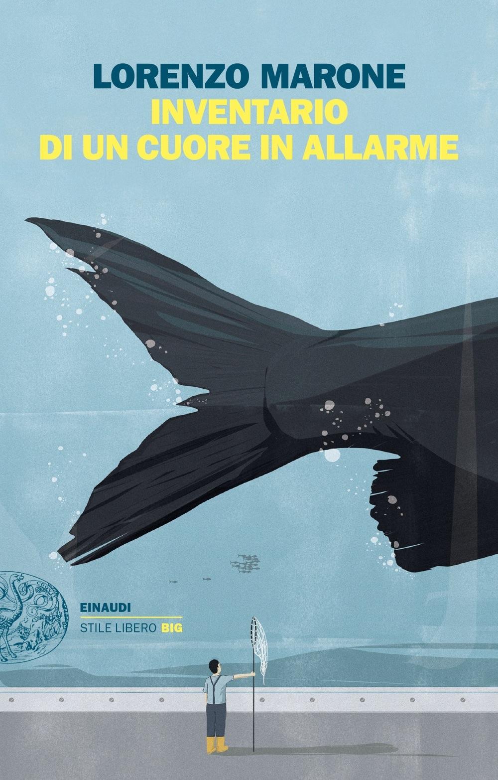 """Libro """"Inventario di un cuore in allarme"""" di Lorenzo Marone"""
