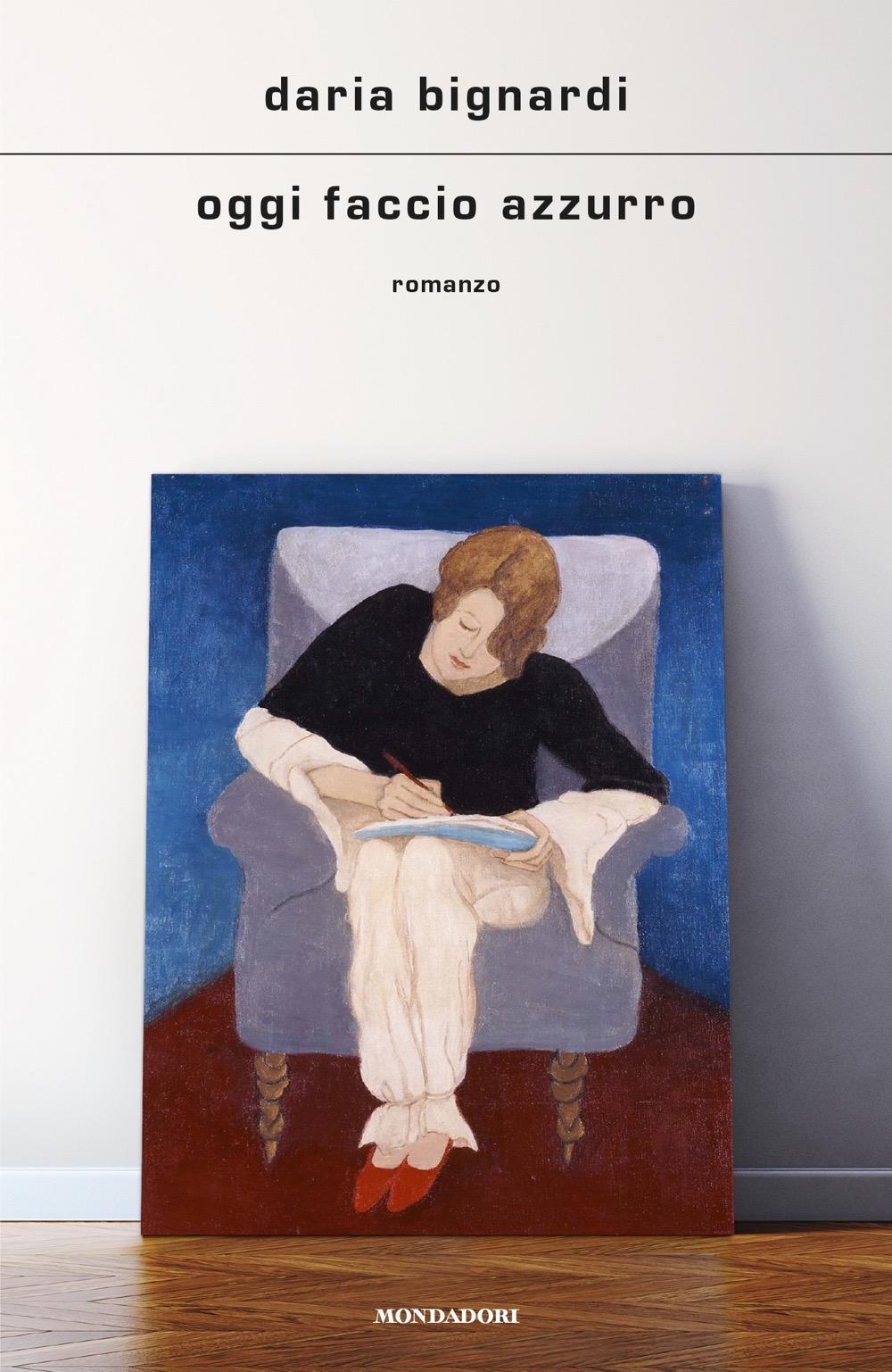 Copertina di Oggi faccio azzurro di Daria Bignardi