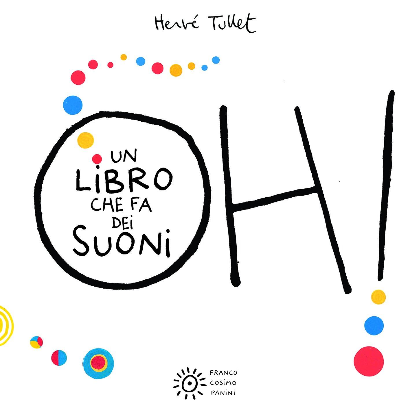 Copertina del libro Oh! Un libro che fa dei suoni per il Progetto Nati per Leggere