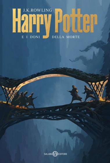 Copertina del libro Harry Potter e i Doni della Morte