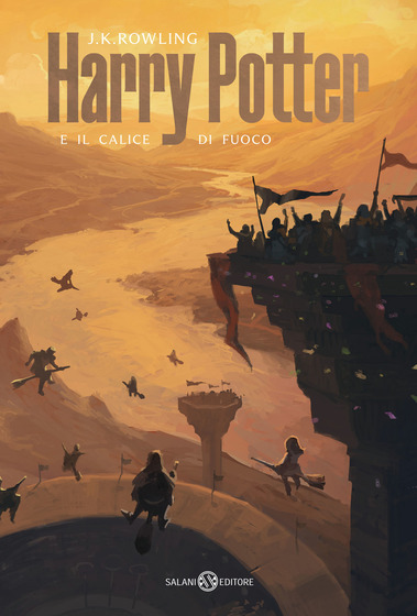 Copertina del libro Harry Potter e il calice di fuoco