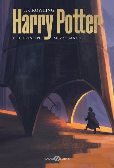 Copertina del libro Harry Potter e il principe Mezzosangue