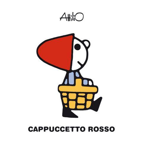 Copertina del libro Cappuccetto Rosso di Attilio Cassinelli