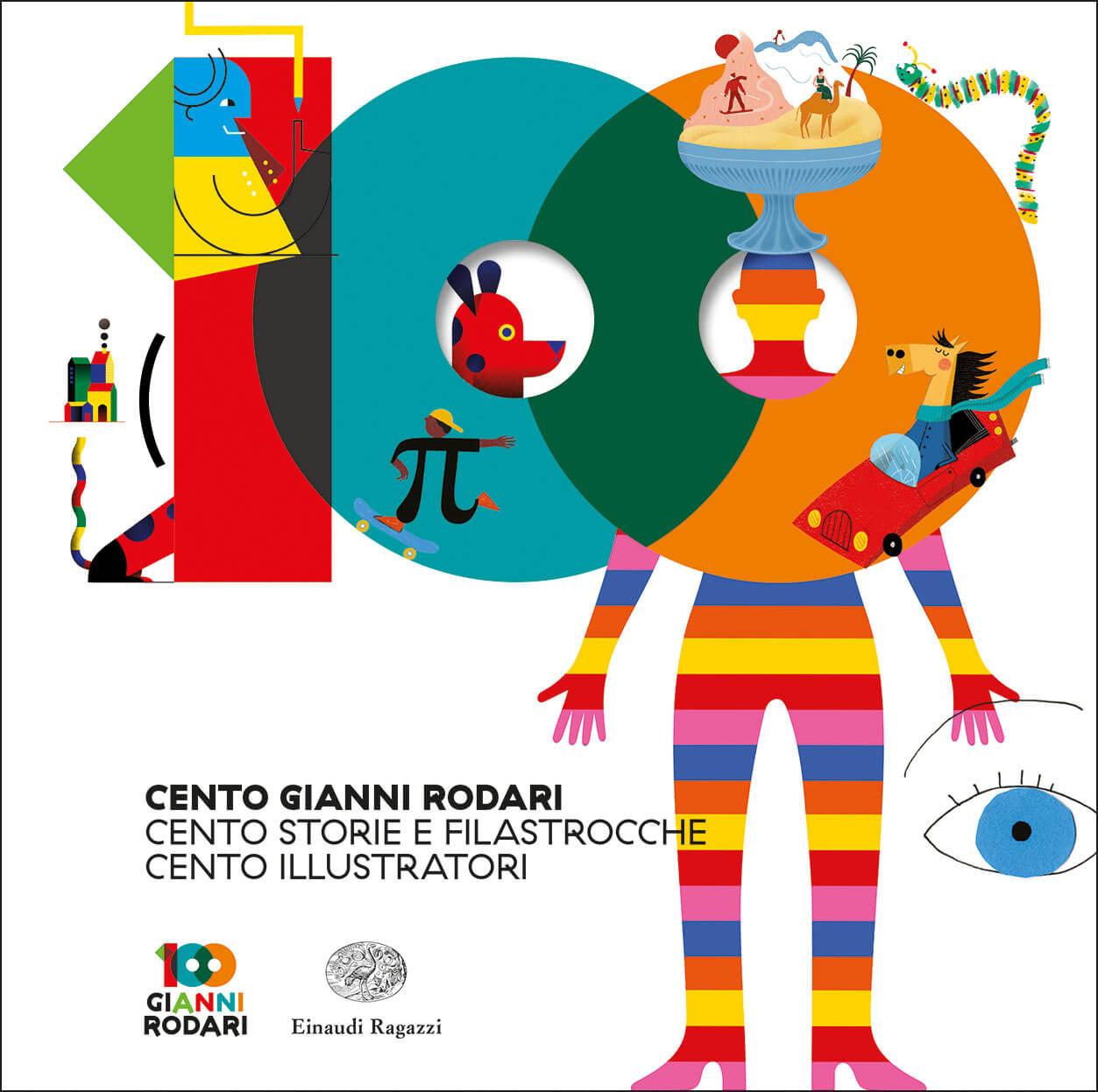 Copertina del libro Cento Gianni Rodari