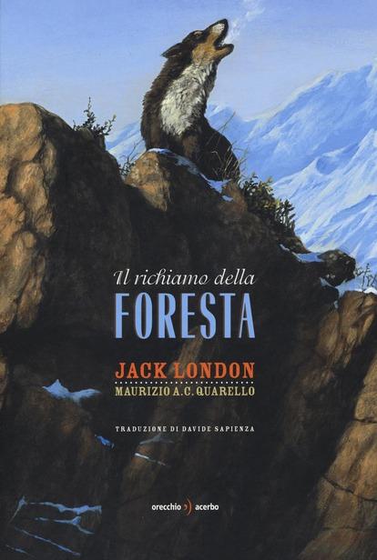 Copertina del libro Il richiamo della foresta