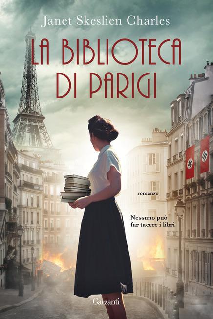 Copertina del libro La biblioteca di Parigi
