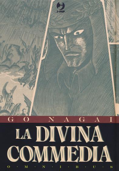 Copertina del libro La Divina Commadia di Go Nagai