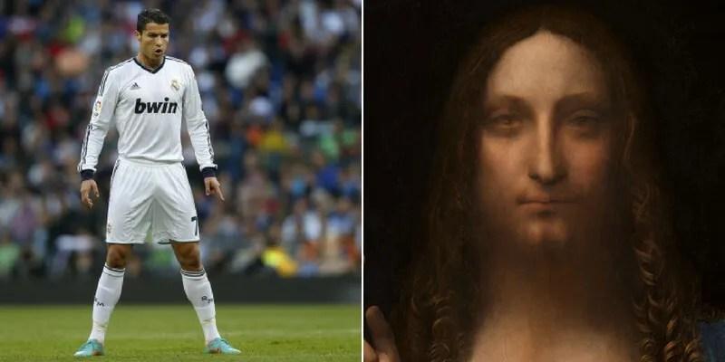 Se Cristiano Ronaldo costa pi di unopera darte le 10 pi costose di sempre