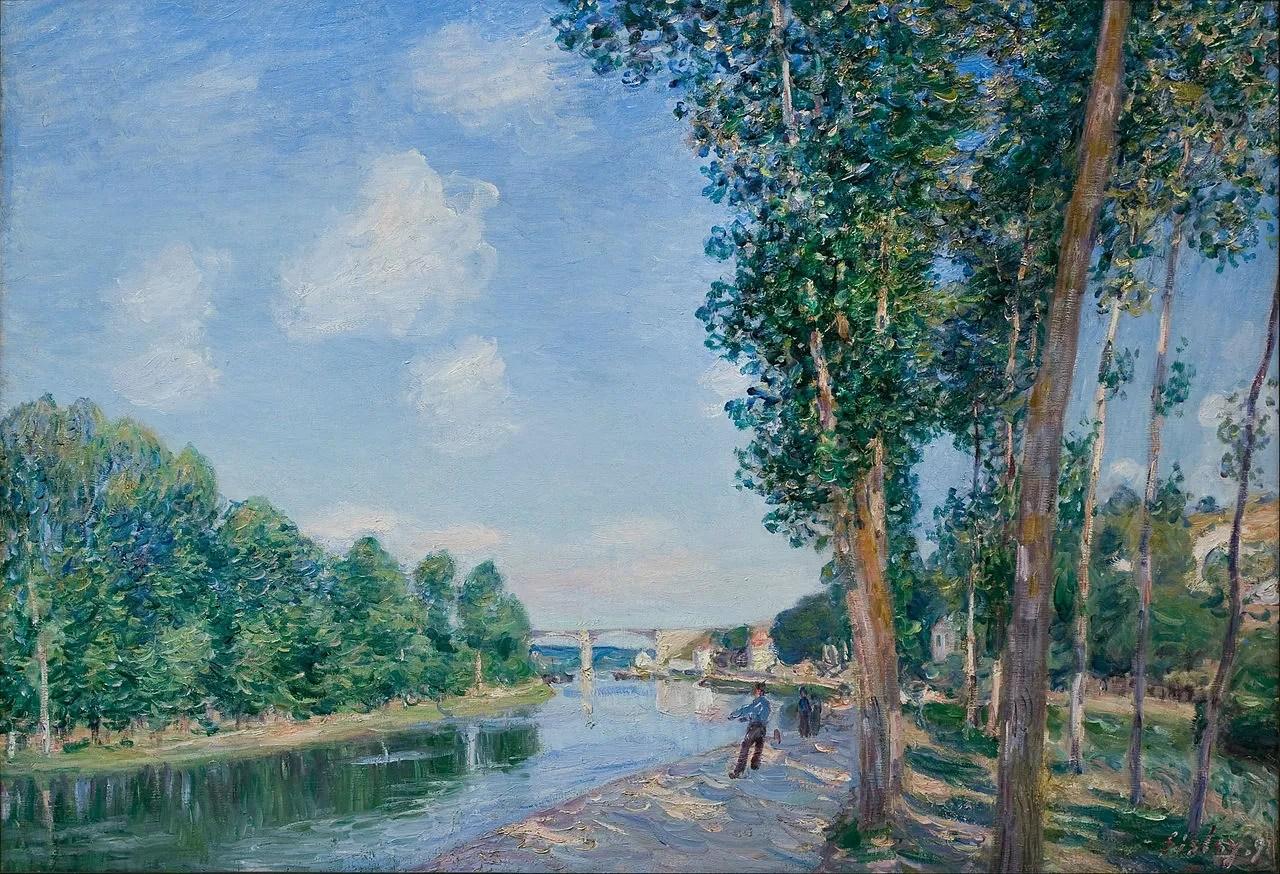 I quadri pi belli di Alfred Sisley