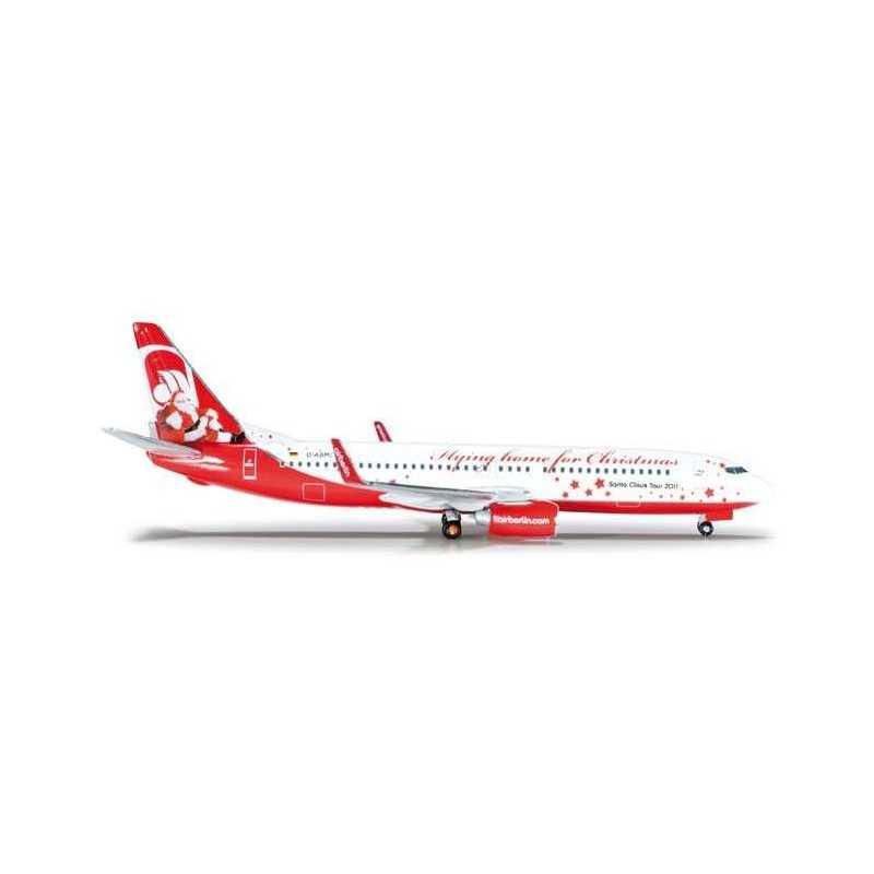 AIRBERLIN BOEING 737-800 CHRISTMAS HERPA WINGS 523448