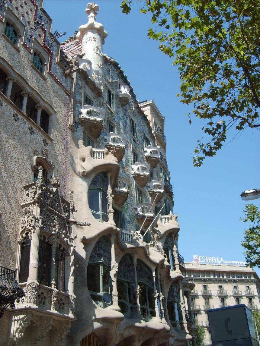 Casa Batllo in Barcelona  FREE image on LibreShot