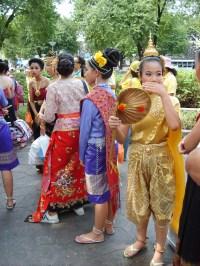FREE IMAGE: Thai girls in traditional clothing | Libreshot ...