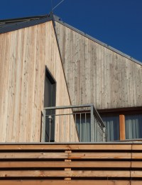 Free Image: Modern Wooden House