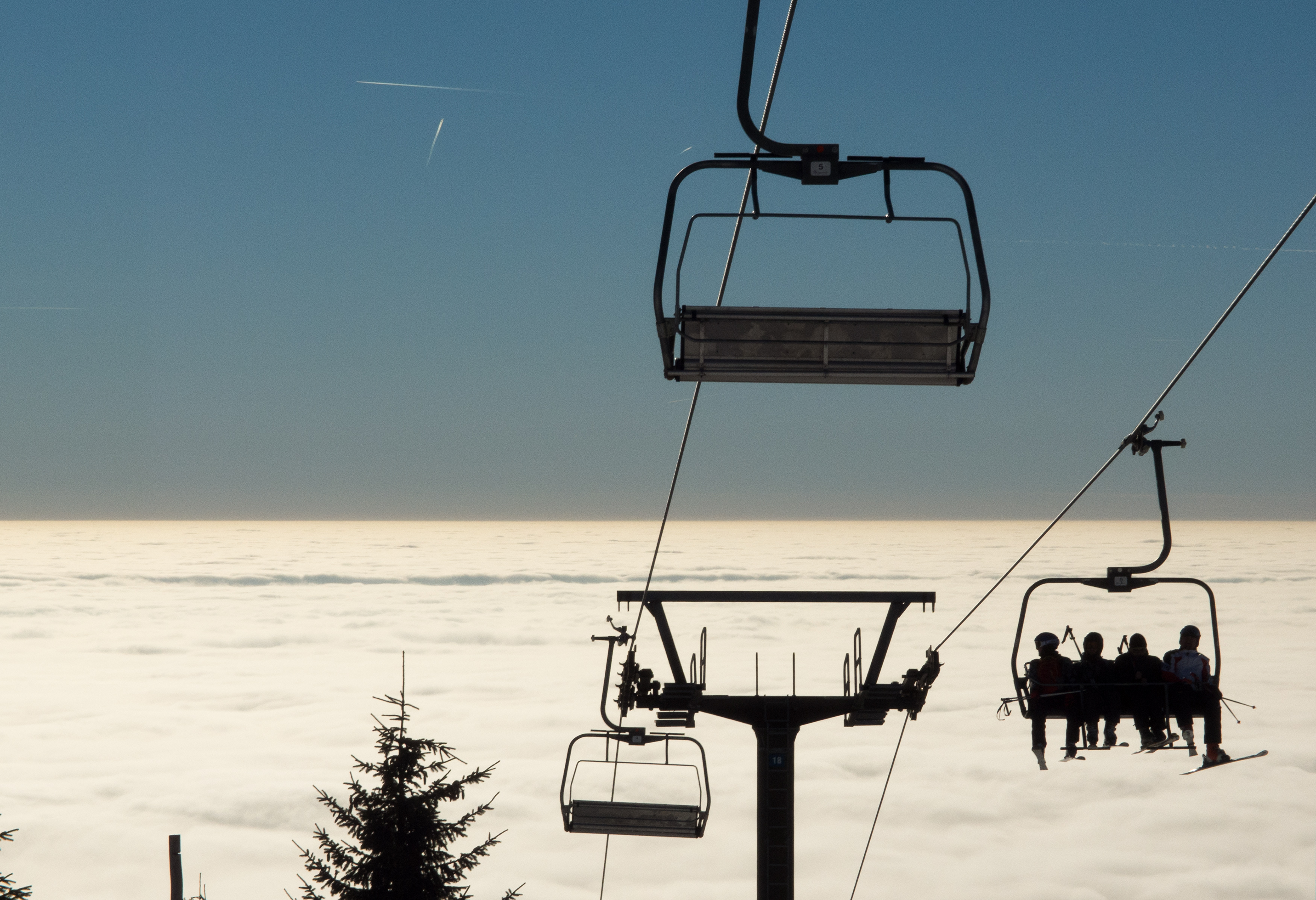 buy ski lift chair folding hooks free image skiers on a chairlift libreshot public