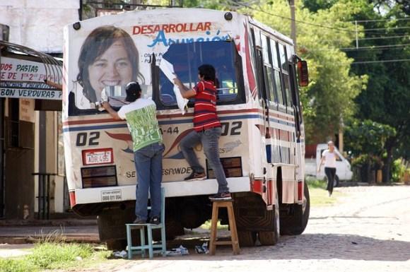 bus Paraguay