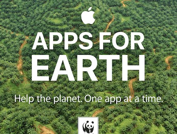 Apple se asocia con la WWF y desarrolladores para la protección del planeta
