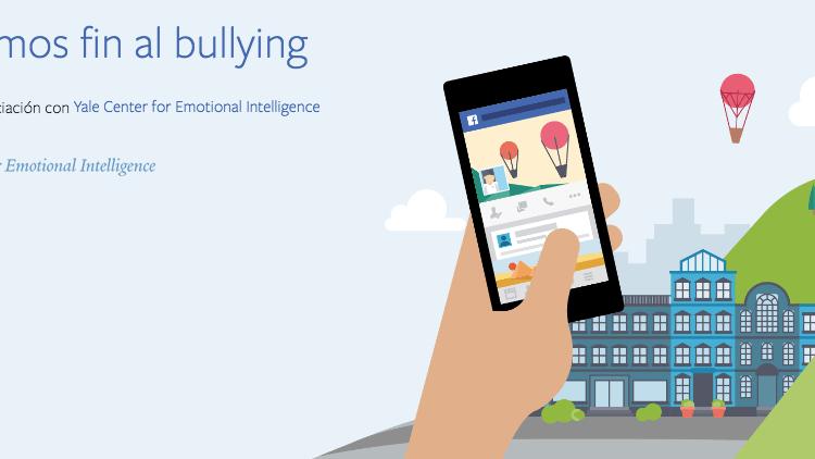 Facebook abre nuevo Centro para la Prevención del Bullying