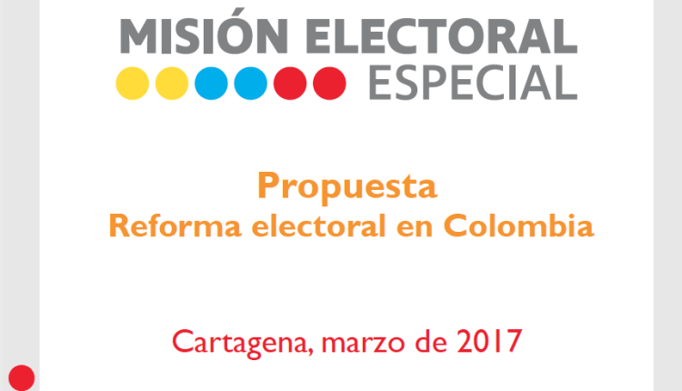 Aquí están las claves de la reforma electoral que propone la Misión Electoral Especial