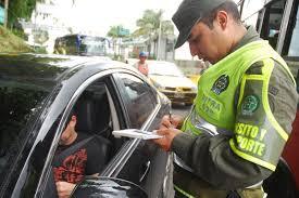 Las infracciones de tránsito más cometidas por los colombianos en 2016