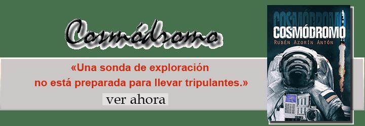 Banner y link de Cosmódromo, un intrigante relato