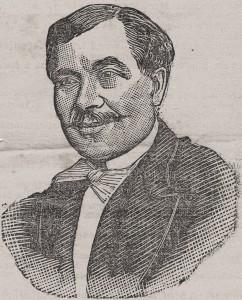 Saint-Germain. portrait paru dans l'article nécrologique de l'Eclair. Source wikipedia