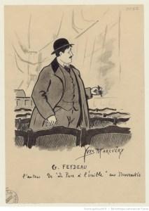 Par la fenêtre, de Georges Feydeau