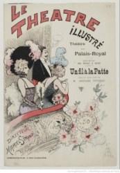 Affiche du Théâtre du Palais-Royal, 09-01-1894. Source : Bnf/ Gallica