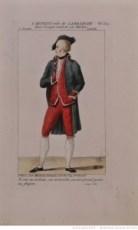 [Crispin rival de son maître, de Alain-René Lesage : costume de Cartigny (la Branche) 1811. Source : Bnf/Gallica