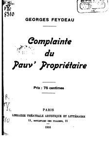 première page de l'édition de 1916.