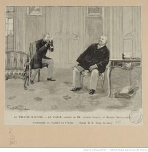 Le ruban de Georges Feydeau