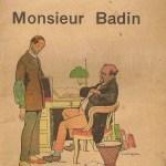 Monsieur Badin de Georges Courteline