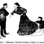 Invite Monsieur à dîner de Georges Courteline