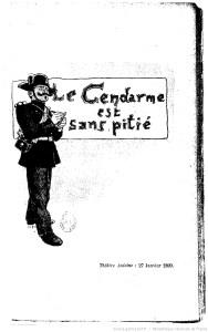 Le Gendarme est sans pitié de Georges Courteline