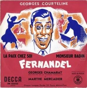 La paix chez soi de Georges Courteline