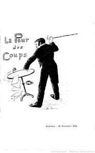 La peur des coups de Georges Courteline