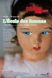 Affiche du spectacle au Théâtre de l'Odéon
