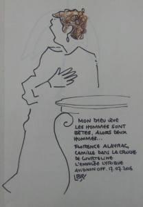 La Cruche - Envolée Lyrique - Dessin de Bénédicte Roullier