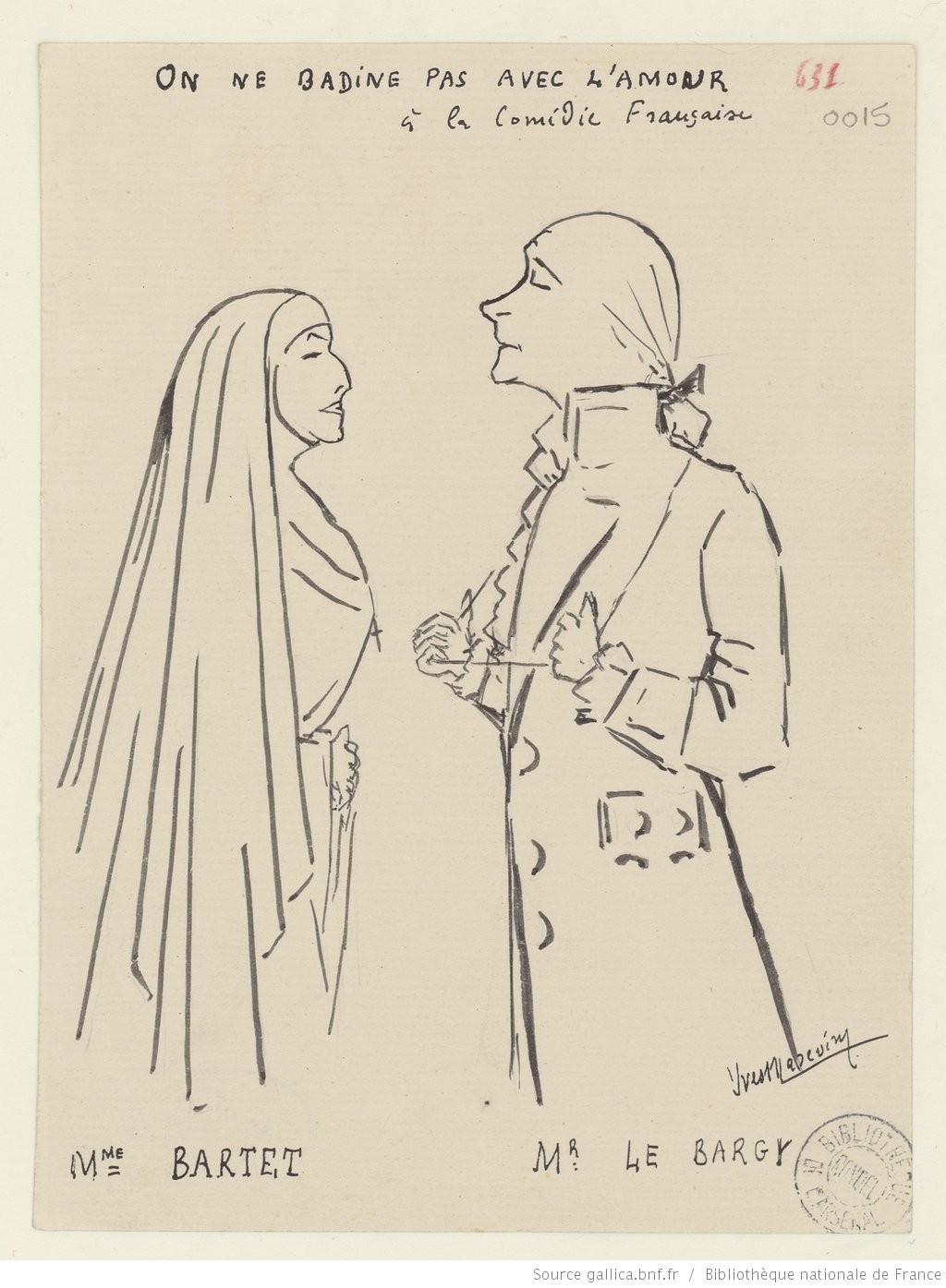 On Ne Badine Pas Avec L Amour Personnages : badine, amour, personnages, Badine, L'amour, D'Alfred, Musset, Libre, Théâtre