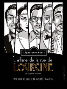 L'affaire de la rue de Lourcine, mise en scène par Sylvain Fougères
