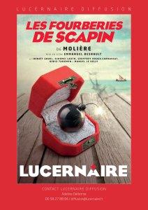 Les Fourberies de Scapin, mise en scène d'Emmanuel Besnault