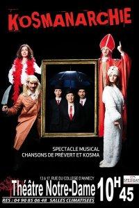 KosmAnarchie : théâtre musical Prévert et Kosma