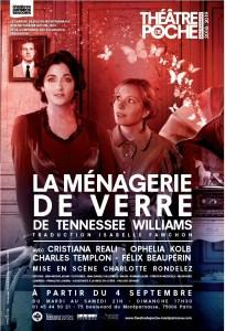La Ménagerie de verre de Tennessee Williams au Théâtre Poche Montparnasse