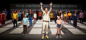 Nous, l'Europe, Banquet des peuples de Laurent Gaudé, mise en scène de Roland Auzet