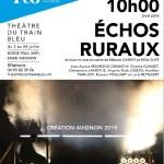 Echos ruraux deMélanie Charvy et Millie Duyé Compagnie Les Entichés