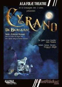 Cyrano de Bergerac d'Edmond Rostand mise en scène de Maryan Liver